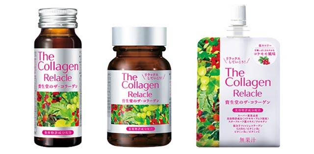 The Collagen Relacle Shiseido dạng viên vị trái cây của Nhật Bản