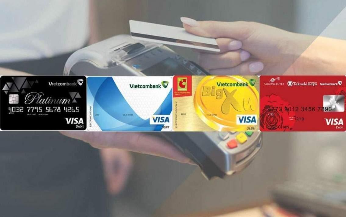 thẻ visa debit vietcombank là gì