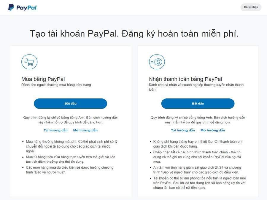 cách add thẻ visa Vietcombank vào Paypal