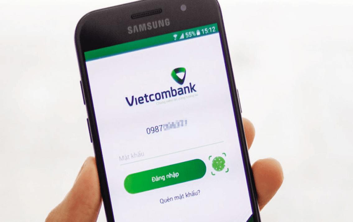 Đăng ký chuyển tiền qua điện thoại Vietcombank