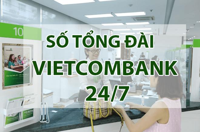 Vietcombank số điện thoại